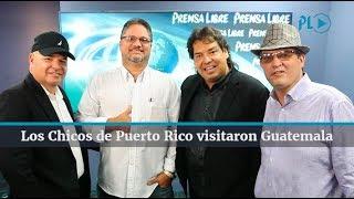 Los Chicos de Puerto Rico visitaron Guatemala | Prensa Libre
