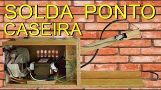 COMO FAZER SOLDA PONTO CASEIRA / SPOT WELDING / SOLDADURA POR PUNTOS