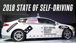 The state of self-driving cars: 2018