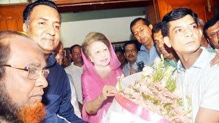 সদ্য ঘোষিত ঢাকা মহানগর বিএনপি নেতৃবৃন্দের দেশনেত্রী বেগম খালেদা জিয়াকে ফুলেল শুভেচ্ছা