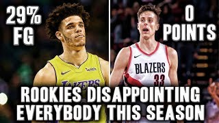 5 NBA Rookies Disappointing Everybody This Season | Lonzo Ball Playing Historically Bad?