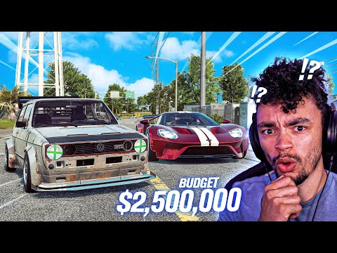 2 500 000 Budget Build in Need for Speed HEAT Ford GT Silvia Golf & More
