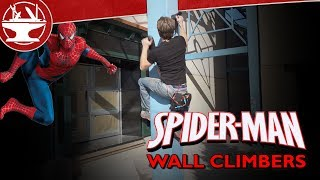 We Made Spider-man Wallclimbers!