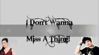 I Don't Wanna Miss A Thing- Instrumental w/ Back-Up vocals (Regine Velasquez Version)