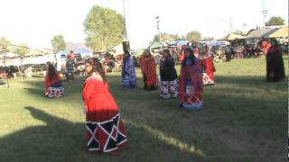 Ladies Bird Dance 18+ BEST C.R.I.T. Powwow 2011, Parker AZ