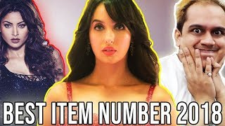 BEST ITEM SONGS OF BOLLYWOOD 2018 FT.  NORA FATEHI AND URVASHI RAUTELA
