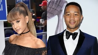 """Ariana Grande & John Legend Duet """"Beauty & The Beast"""" Theme Song for Live-Action Movie"""