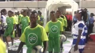 NPFL 2016 Super grand entry- Enyimba Vs. Warri Wolves