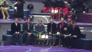 161202 EXO REACTION to Gallant's high note