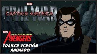 Capitán América: Civil War - Trailer Versión Animado en Español Latino HD