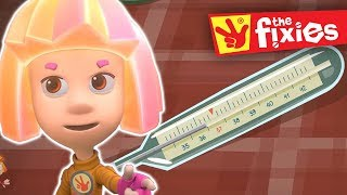 The Fixies ★ The Thermometer Pus Fixies Songs ★ Fixies English | Cartoon For Kids