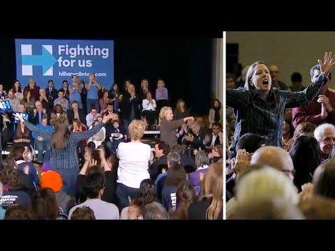 Xxx Mp4 Heckler Confronts Hillary Clinton Over Bill Clinton Sex Scandals 3gp Sex