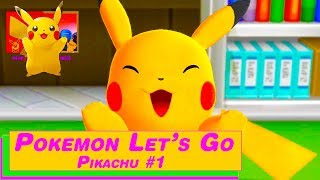 EINDELIJK | Pokemon Let's Go Pikachu (Nederlands Let's Play #1)