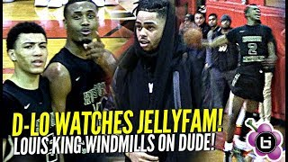 Jelly Fam JQ Shows Out for D