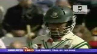 Aftab Ahmed 82* against England