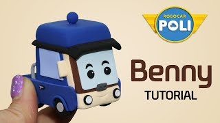 Transformed into clay♥ Benny became so soft! | Friends of Robocar POLI | Gony's Claytown