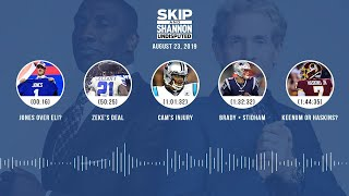 UNDISPUTED Audio Podcast (08.23.19) with Skip Bayless, Shannon Sharpe & Jenny Taft   UNDISPUTED