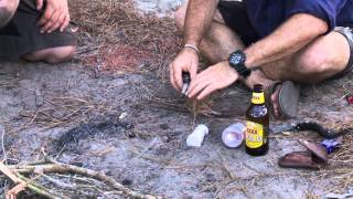 3 Amazing ways to light a camp fire!
