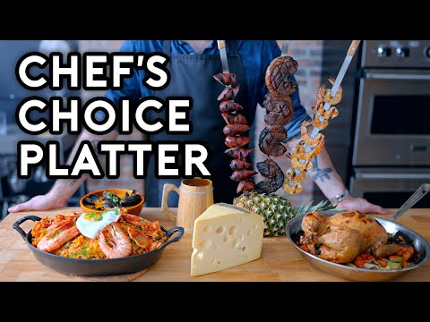 Binging with Babish Chef s Choice Platter from Monster Hunter World