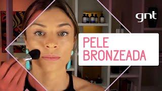 Aprenda a fazer uma pele bronzeada | Dicas da Grazi