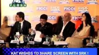 B4U Flash - katrina getting close to SRK