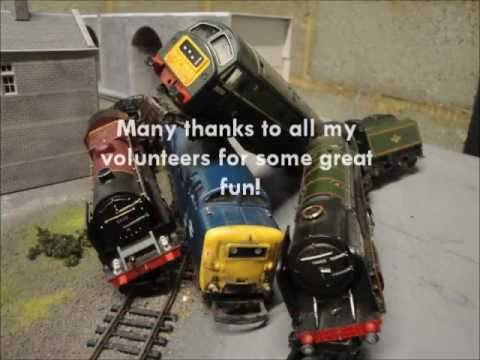 Model Train Crashes on the Sepple Valley Railway