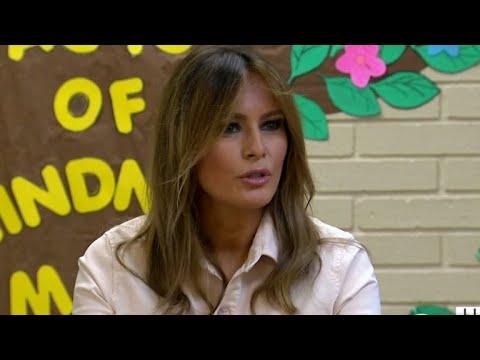 Xxx Mp4 Melania Trump Visits Child Immigrant Detention Center 3gp Sex