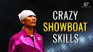 Sepak Takraw ● Thinnakorn Punthep ● Crazy Showboat Skills | HD