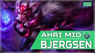 468. Bjergsen duo with Doublelift - Ahri vs Lucian Mid - May 25th, 2017 - Patch 7.10 Season 7