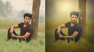 How to change background in Photoshop and Color mixing Tutorials