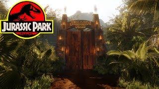 JURASSIC PARK TOUR ! JURASSIC DREAM! | Best Jurassic Park Fan Game (Free Download)
