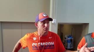 TigerNet.com -Dabo Swinney March 27