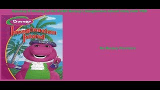 Barney's Imagination Island RARE 2004/2006 VHS Opening & Closing