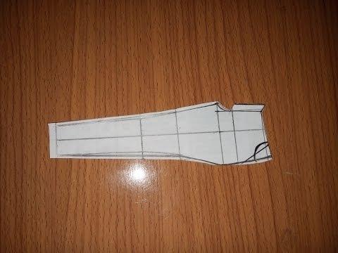 Cách cắt quần âu nữ không ly phần 1 How to cut a female pant part 1