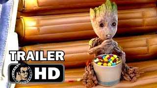 GUARDIANS OF THE GALAXY 2 Official Trailer #1-3 (2017) Chris Pratt Marvel Movie HD