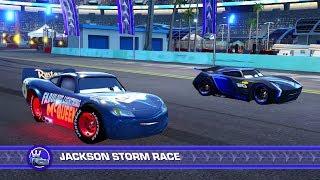 Cars 3: Driven to Win (PS4) - Fabulous Lightning McQueen (SPOILERS) vs. Jackson Storm (Hard)