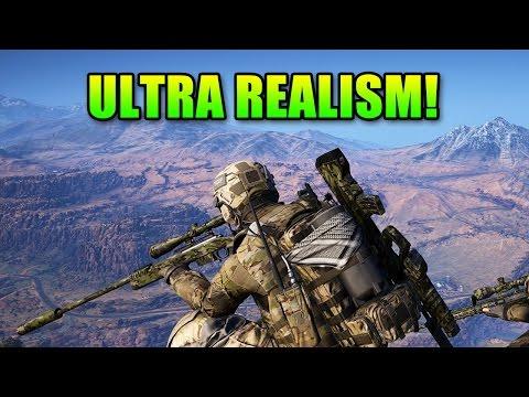 Ultra Realism Mode No HUD Ghost Recon Wildlands Unidad Consipracy
