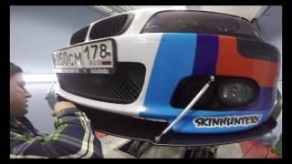 #SPEEDBLADE - Сплиттер со штангами на BMW E46