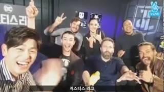 저스티스 리그 : 에릭남(Eric Nam) 인터뷰 - 블핑 춤추는 에즈라 밀러