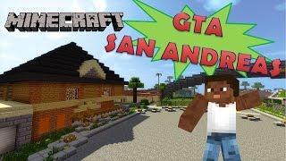 Minecraft: Mapa GTA San Andreas
