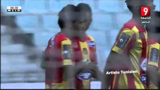 الترجي 2-0 القصرين - هدف سعد بقير - الدوري التونسي - الجولة 06