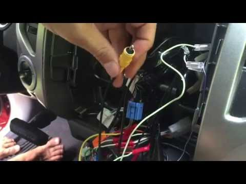 How To Wire Factory Backup Camera to Aftermarket Head Unit - Toyota Tacoma