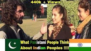 What Pakistani people think about India 2018 Social Experiment   Pakistani people know about india