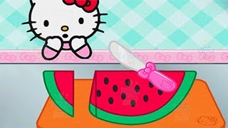 Hello Kitty Lunchbox - Baby Learn Cooking Yummy Meal - Kids Play Fun Kitchen Game
