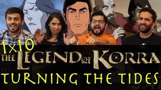 The Legend of Korra - 1x10 Turning the Tides - Group Reaction