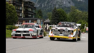 Quattrolegende 2018 - Audi S1, IMSA GTO, Rally A2, TT Clubsport and many more