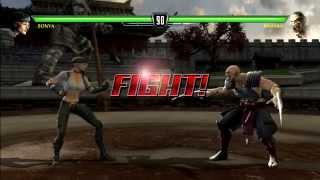 Mortal Kombat vs Dc Universe - Capitulo #2: Sonya Blade