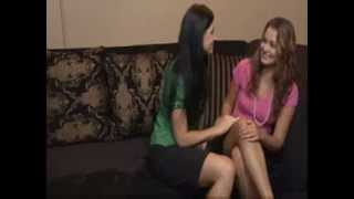 Naughty Aunty Seducing Young Girl - Lesbs