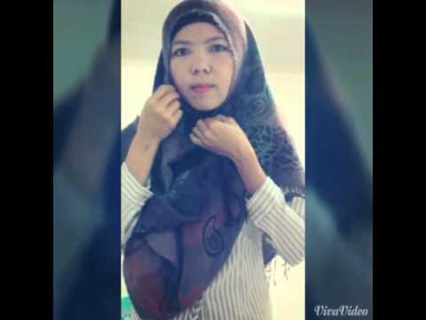 Tutorial Hijab Pasmina syari i