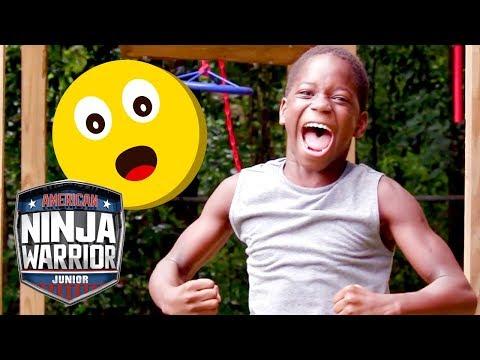 Top 5 INSPIRATIONAL NINJA STORIES American Ninja Warrior Junior Universal Kids